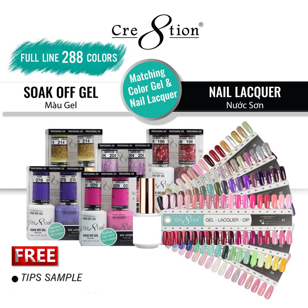 CRE8TION GEL LACQUER FULL