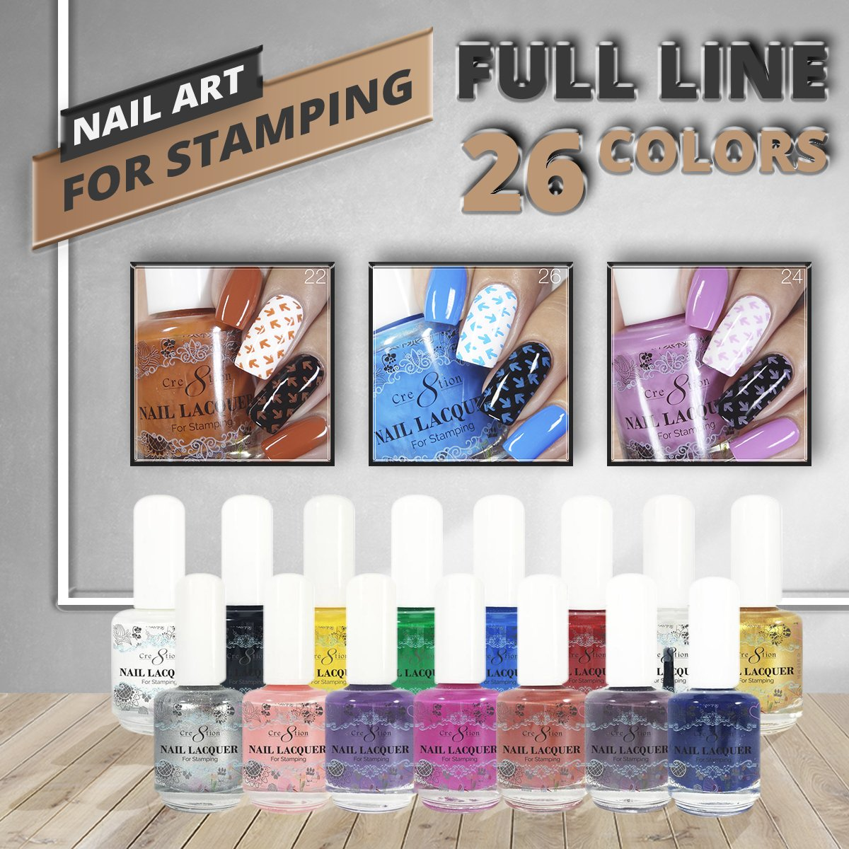 CRE8TION NAIL LACQUER FULL